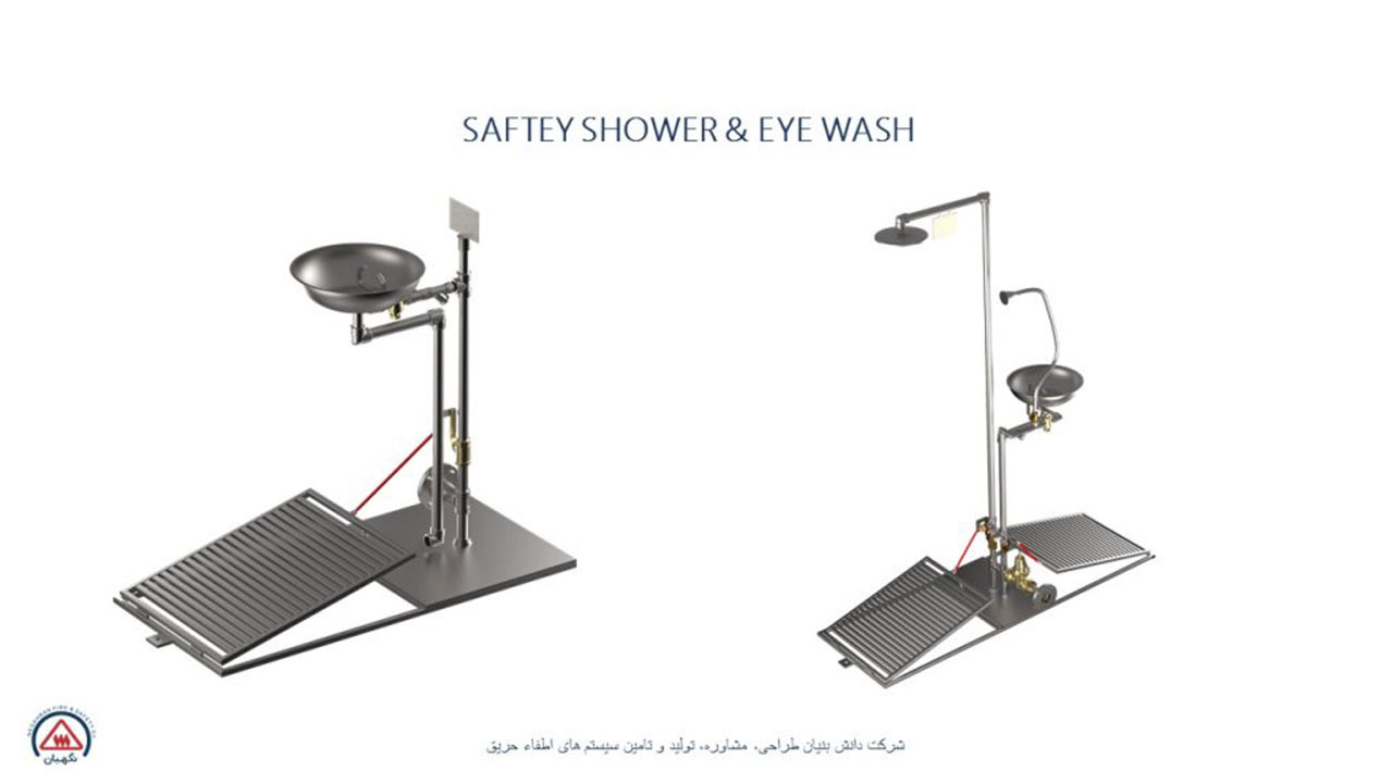 SAFETY SHOWER & EYEWASH
