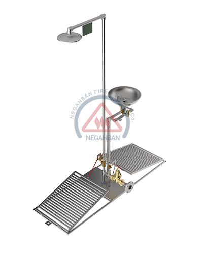SAFETY SHOWER & EYEWASH (NF-SSE)